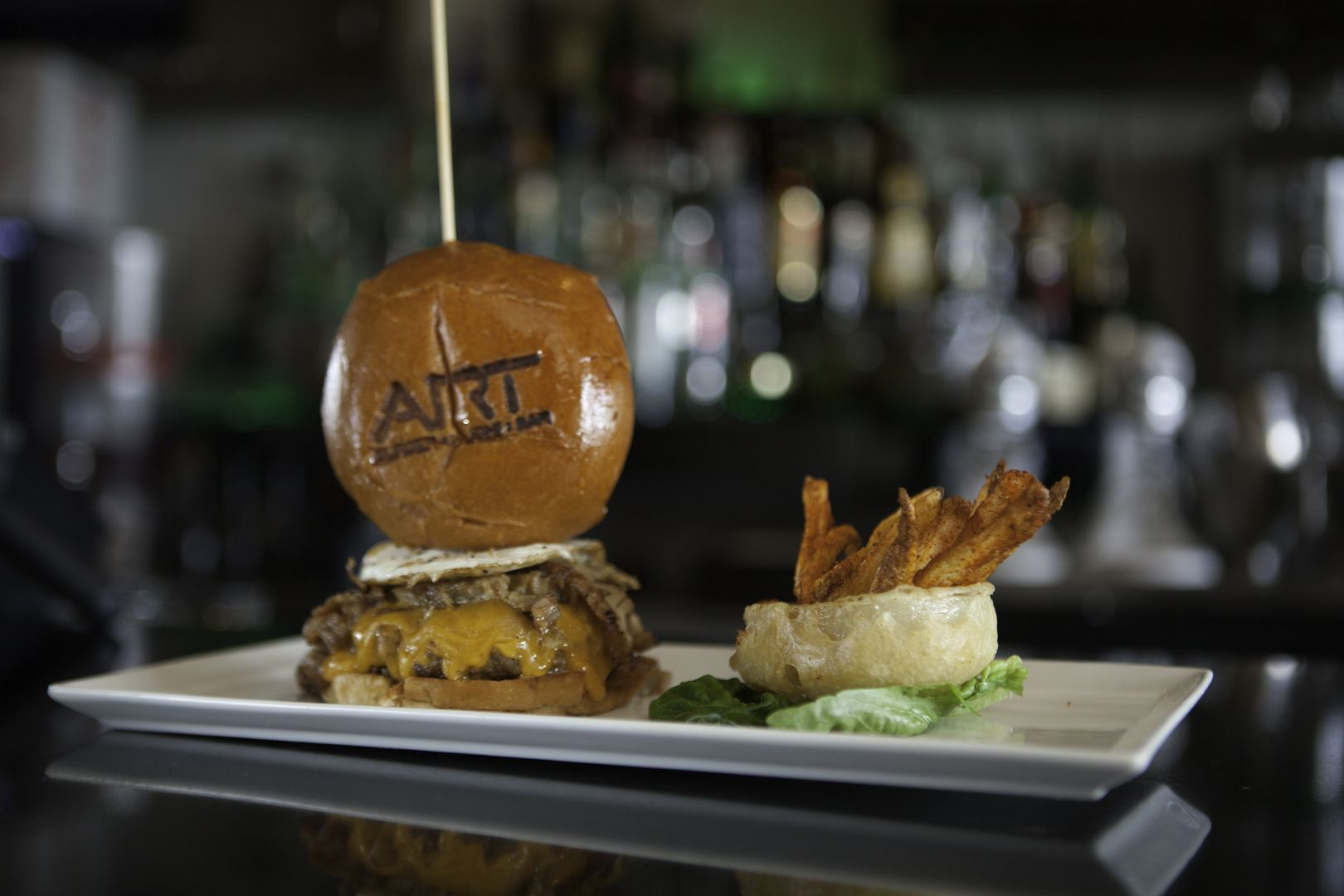 Art Burger Sushi Bar Is Oceanfront And Has Premium Burgers Delectable Fresh