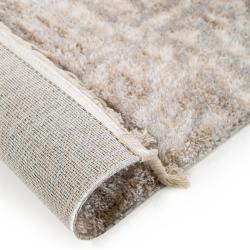 Photo of benuta short pile carpet Bela beige / gray 135×200 cm – Modern carpet for living room benuta