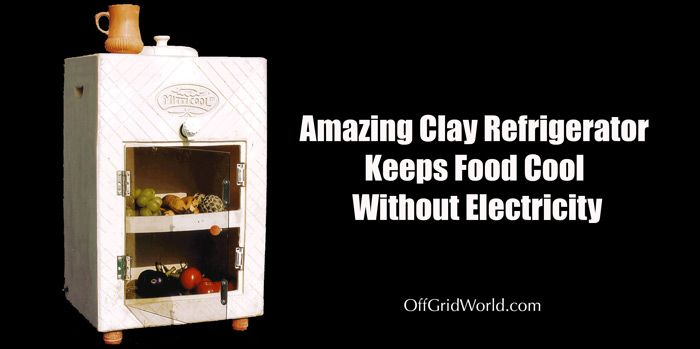 Amazing Clay Refrigerator Keeps Food Cool Without Electricity
