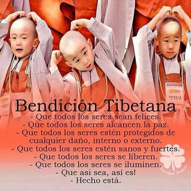 Bendicion Tibetana Frases Espirituales Frases Yoga Y