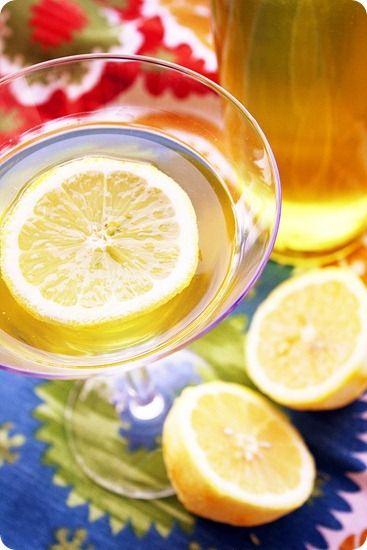 homemade limoncello.... oh Italy <3