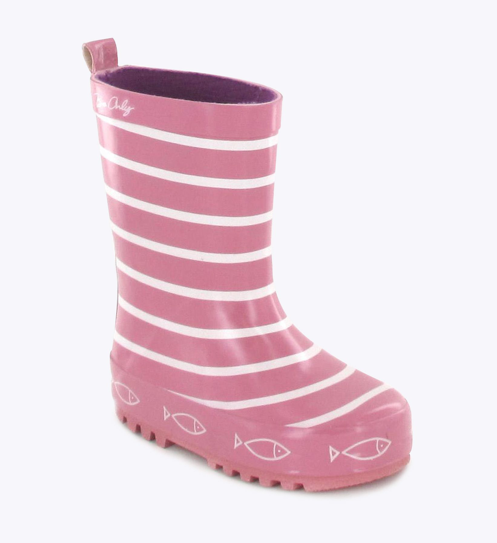e9c153b34ae06 Bottes de pluie Be Only TIMOUSS Rose www.be-only.com