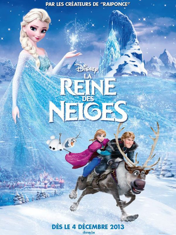 La Reine Des Neiges Le Film De Disney Gold N Blog Film La Reine Des Neiges Affiches De Films De Disney Film Frozen