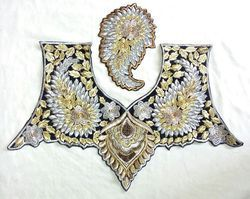 Our customers can avail from us Designer Embroidery Choli Patches that is available in various designs, sizes and patterns at market leading prices.   Uses:  Used in textile industry  Specifications:  Size- Standard  Features:  Seamless finish Sophisticated Attractive  Price Range:- Rs 120 - Rs 500 ( Per Piece)