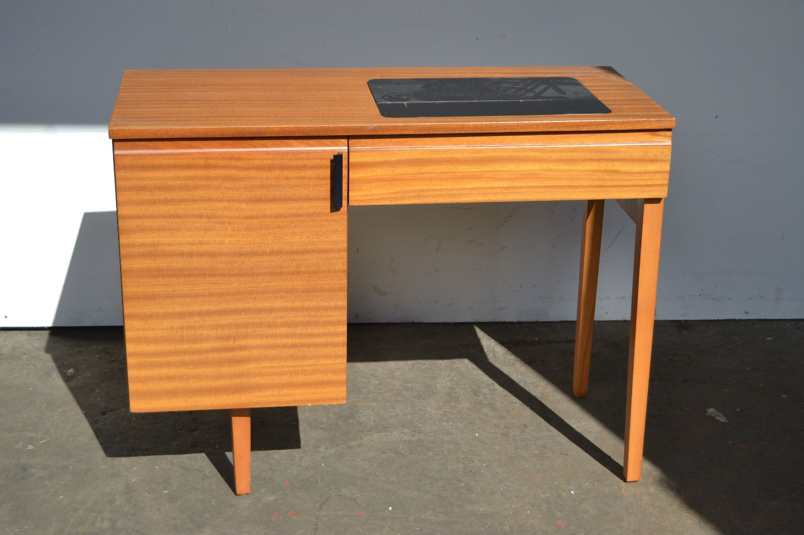 Sylvia Sewing Cabinets Vintage Retro Alfa Sewing Machine In Teak Cabinet See