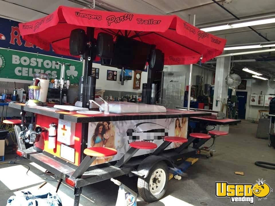 Custom party tailgating bar grill trailer for sale in