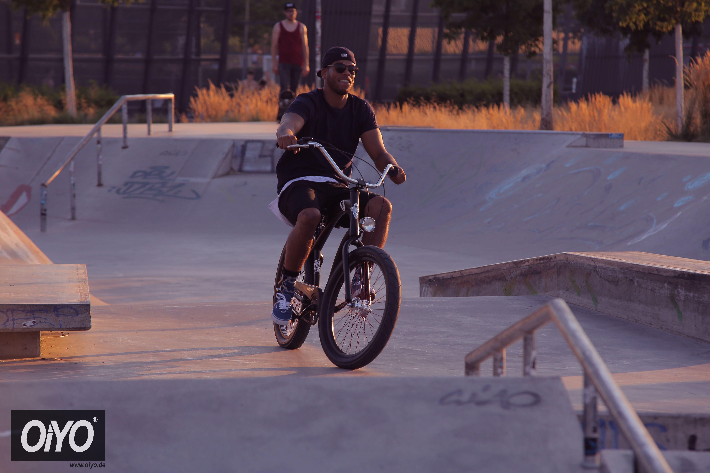#PeterManns #Skatepark #Osthafen #Oldschoolbike #Cinnamon #Videoshoot #FFM #Oiyo #urbnfmly