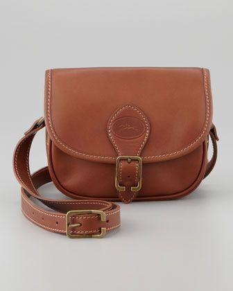 Au Sultan Crossbody Bag, Cognac by Longchamp at Neiman Marcus.