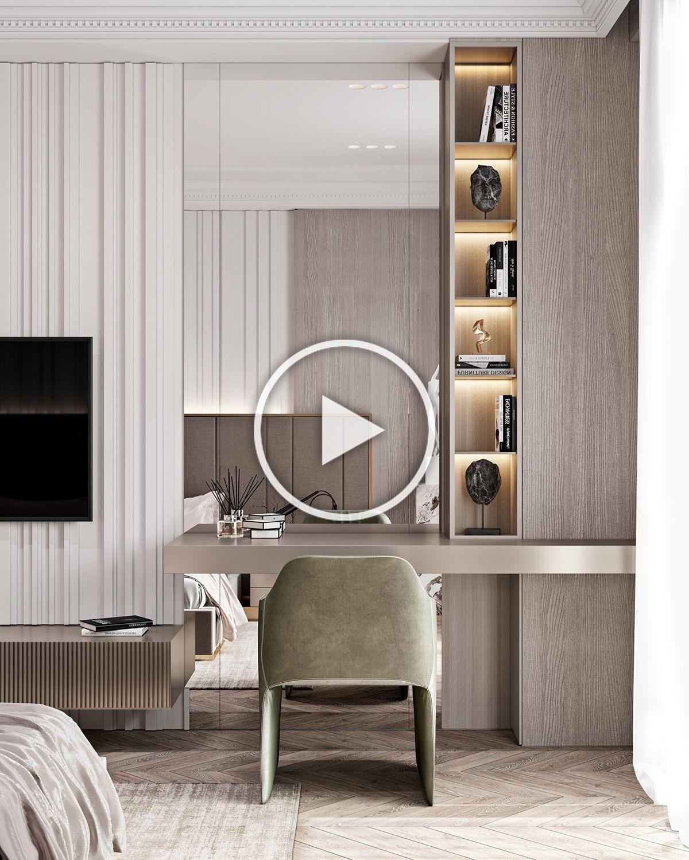 Apartment In Baku A On Behance Modern Luxury Bedroom Interior Design Bedroom Bedroom Interior