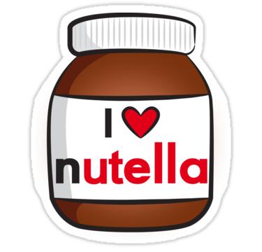 Tecknad Nutella