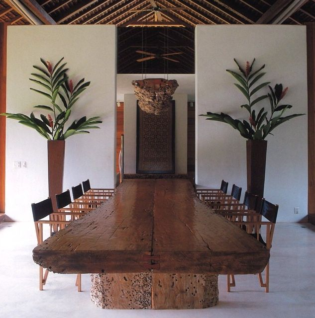 12 Rustic Dining Room Ideas: Rustic Dining Room, Bali House, Outdoor