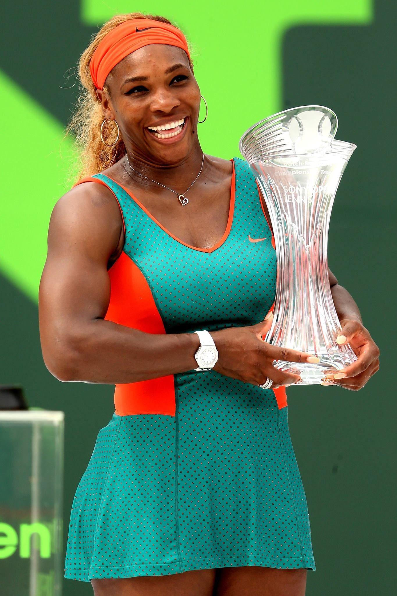 Serena wins Miami