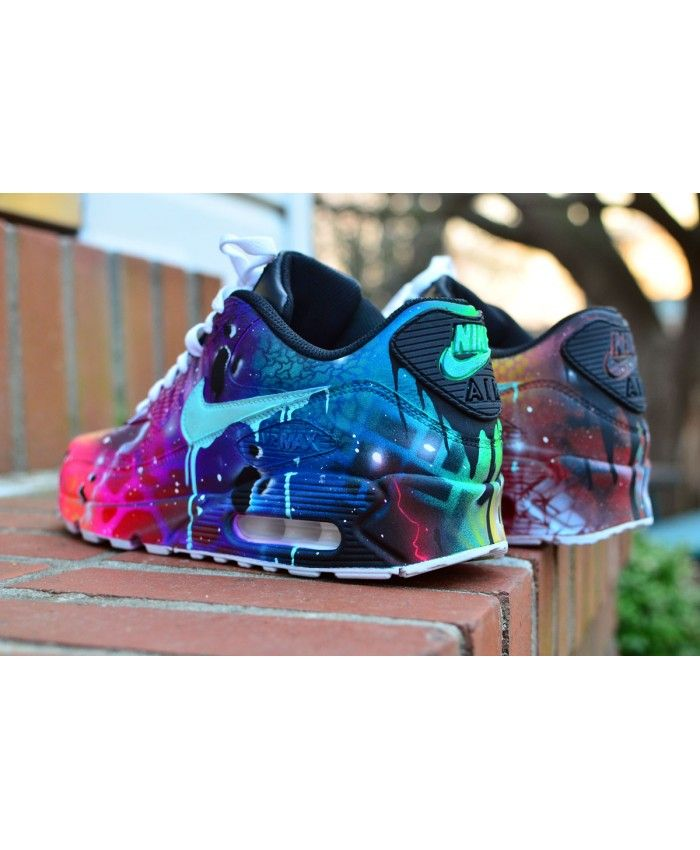 the latest 8cec2 b8377 Best Nike Air Max 90 Candy Drip Navy Pink Purple Custom Online Store - Nike  air max 90 candy drip trainers