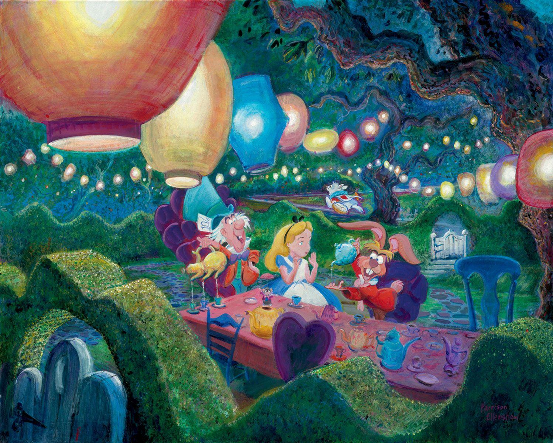 Alice In Wonderland Mad Hatter S Tea Party By Harrison Ellenshaw