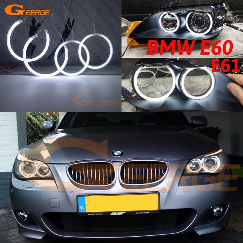Find More Car Light Assembly Information About For Bmw E60 E61 525i 530i 540i 545i 550i M5 2003 2004 2005 2006 2007 Excellent Ultra Brig Bmw Bmw E60 Angel Eyes
