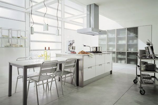 Stylish home Kitchens Italian style kitchens and Kitchens