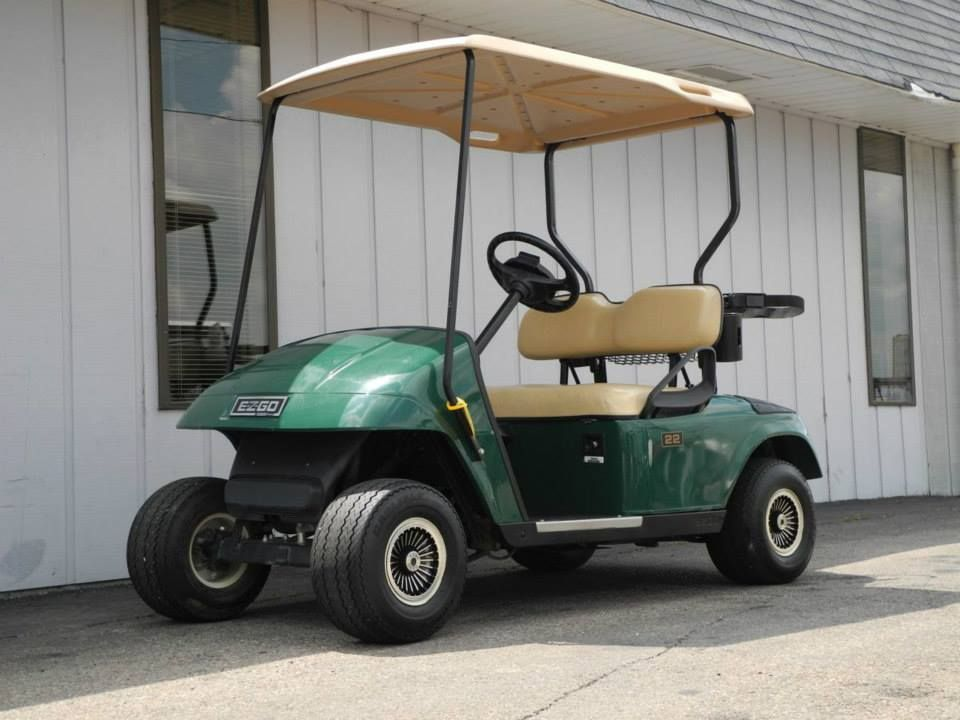 We Recently Received A Shipment Of 1999 And 2000 E Z Go Gas Golf Cars With Prices Starting Under 2000 If You Ve Got A Cus Used Golf Carts Golf Car Golf Carts