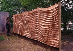 Superblueu0027s Honeycomb Fence U0026 A DIY Potting Shed