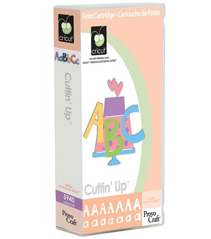 Cricut Cuttin' Up Cartridge | Products | Cricut fonts
