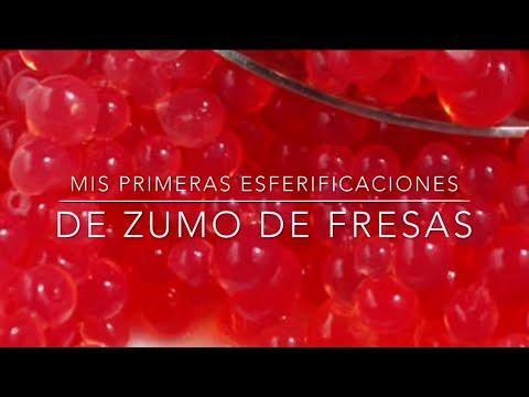 Esferificacines con Agar Agar de zumo - Cocina Molecular - Ferran Adriá - YouTube