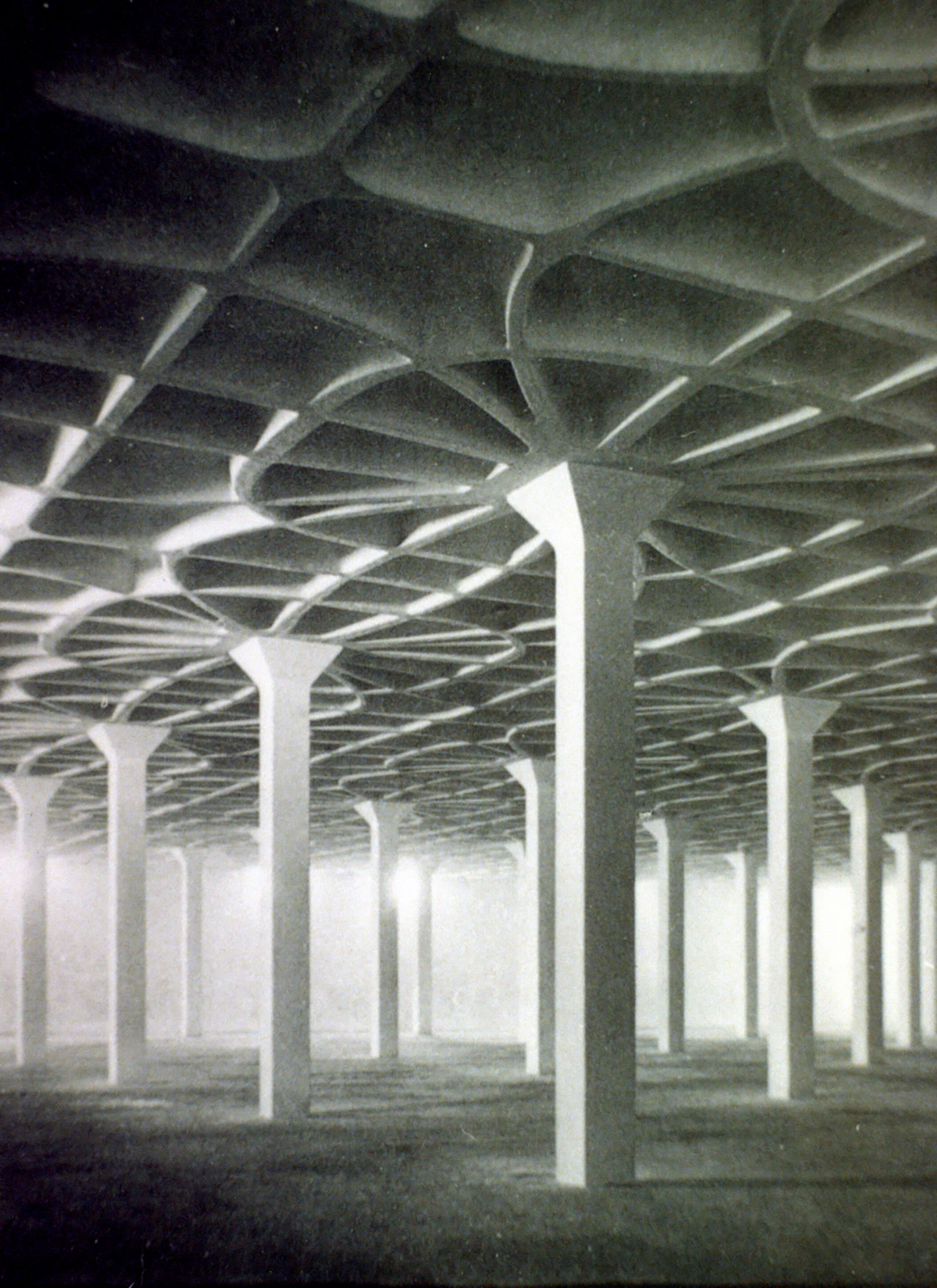 Gatti Wool Factory by Pier Luigi Nervi