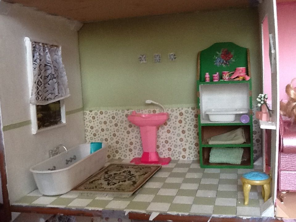 diy barbie dollhouse furniture. barbie dollhouse bathroom diy diy furniture