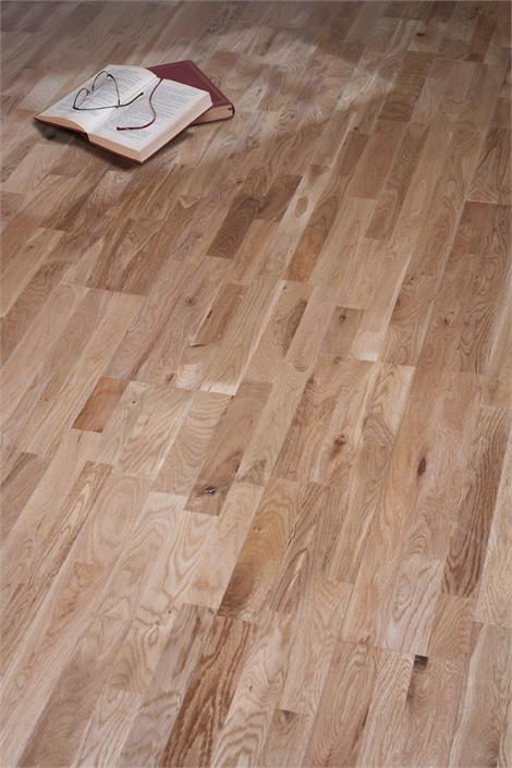 Westco 12mm Solid 3 Strip Oak 150mm Wide Flooring Flooring