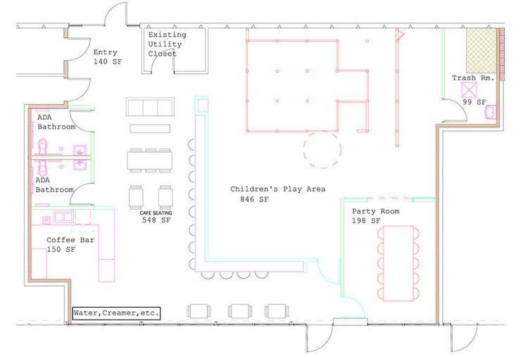 The Wiggle Room Floor Plan Cafe Floor Plan Kids Play Floor Child Plan