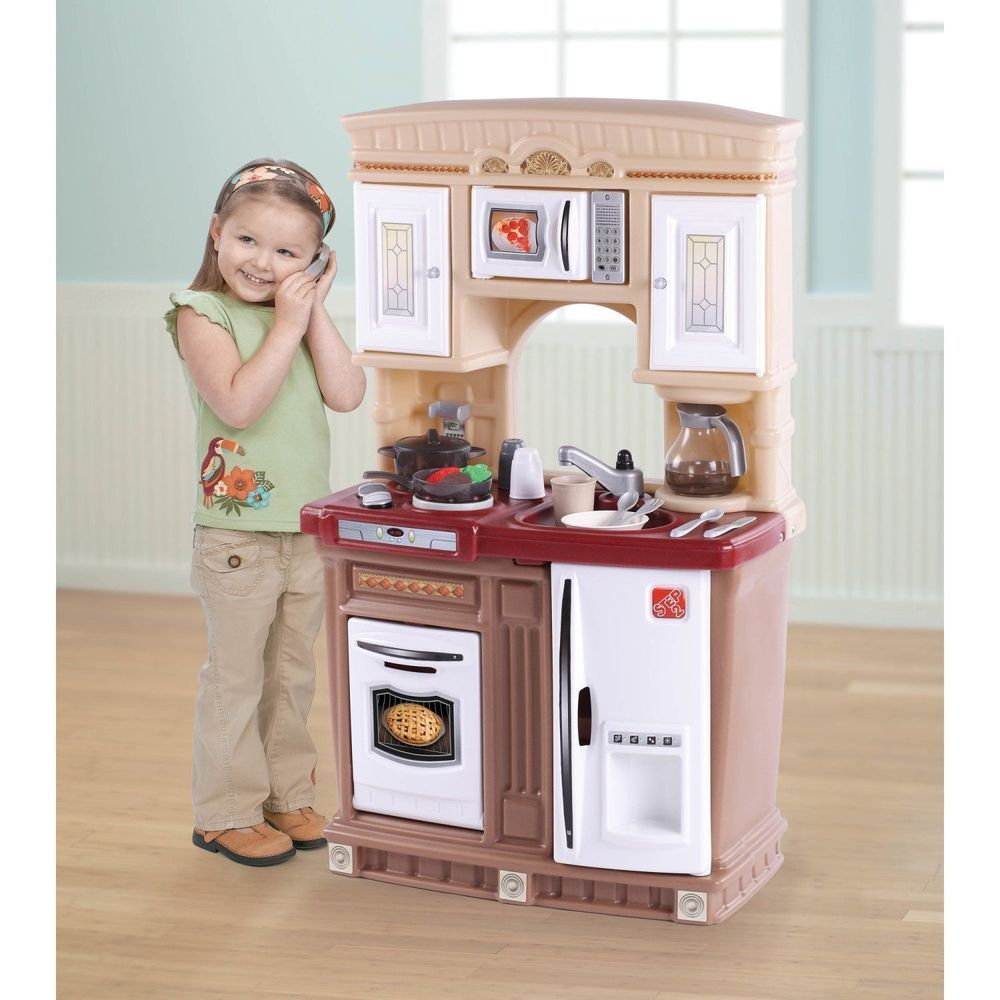 Kids Kitchen Set With 30 Pc Accessories S Toy Gift Cooking Oven Pretend Play