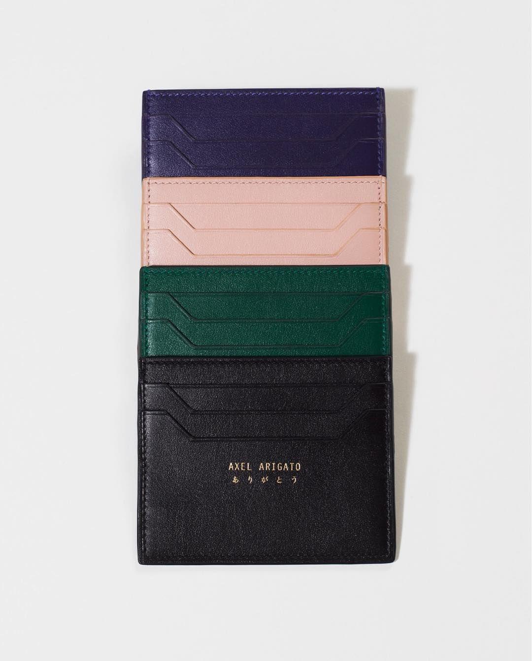 Saddler Womens Leather Compact Credit Card Holder Black