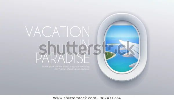 View Airplane Flight Window Vacation Destinations Stock Vector (Royalty Free) 38... - Flight View