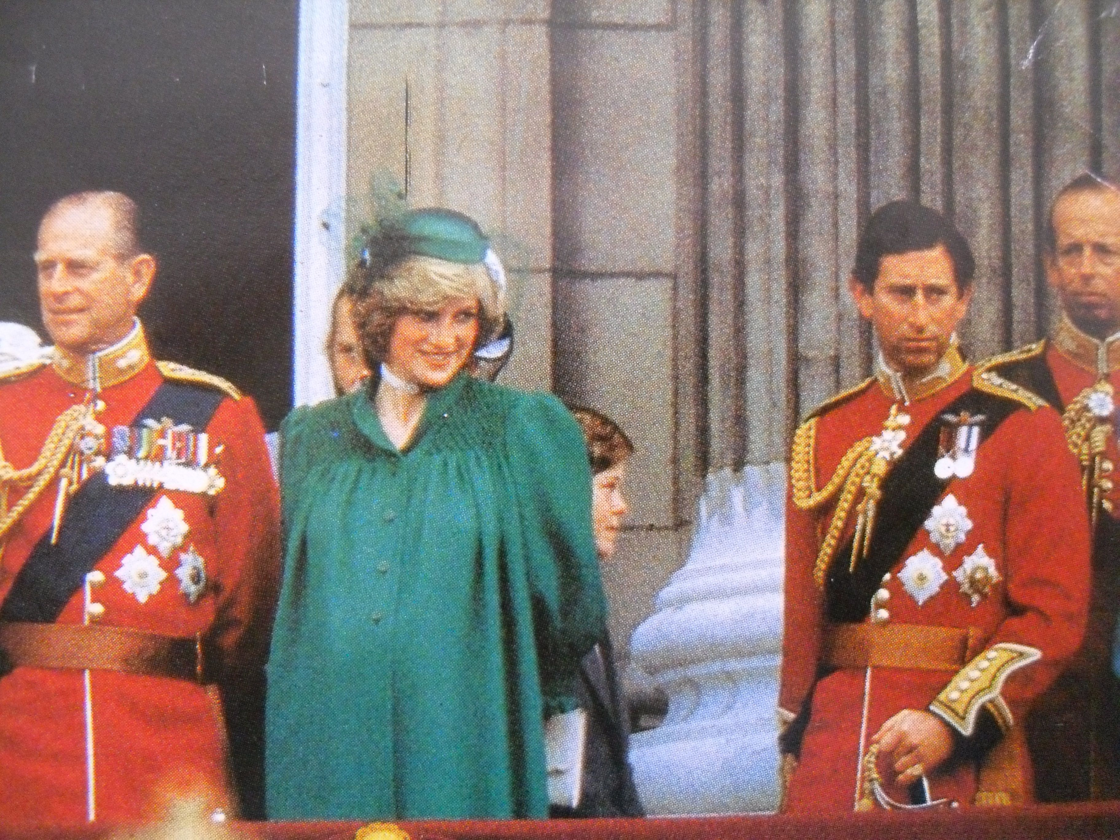 Image result for princess diana 1982 trooping the colour