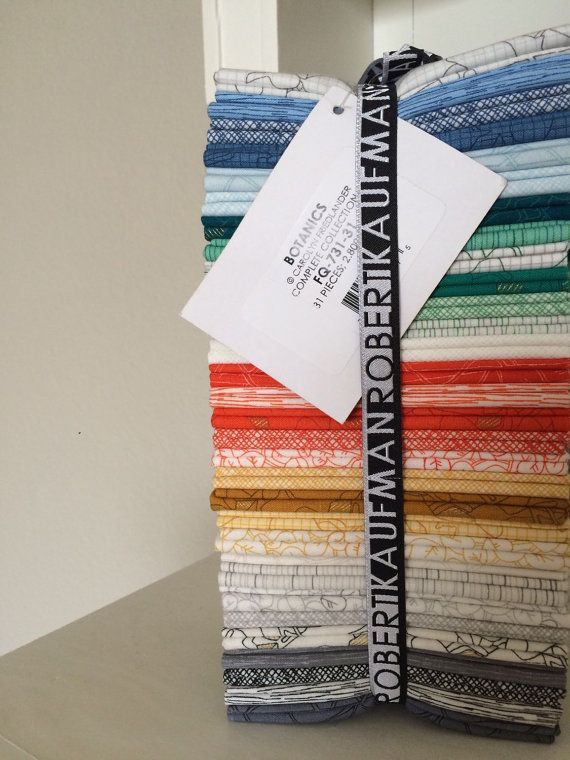 Botanics Complete Fat Quarter Bundle by Carolyn by ohhowsweetco