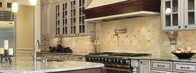 Travertine Tile Backsplash Pictures