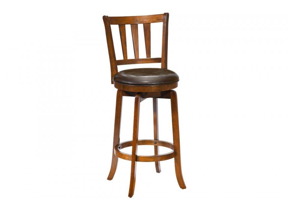 Ashland Swivel Cherry Counter Stool Bob S Discount Furniture