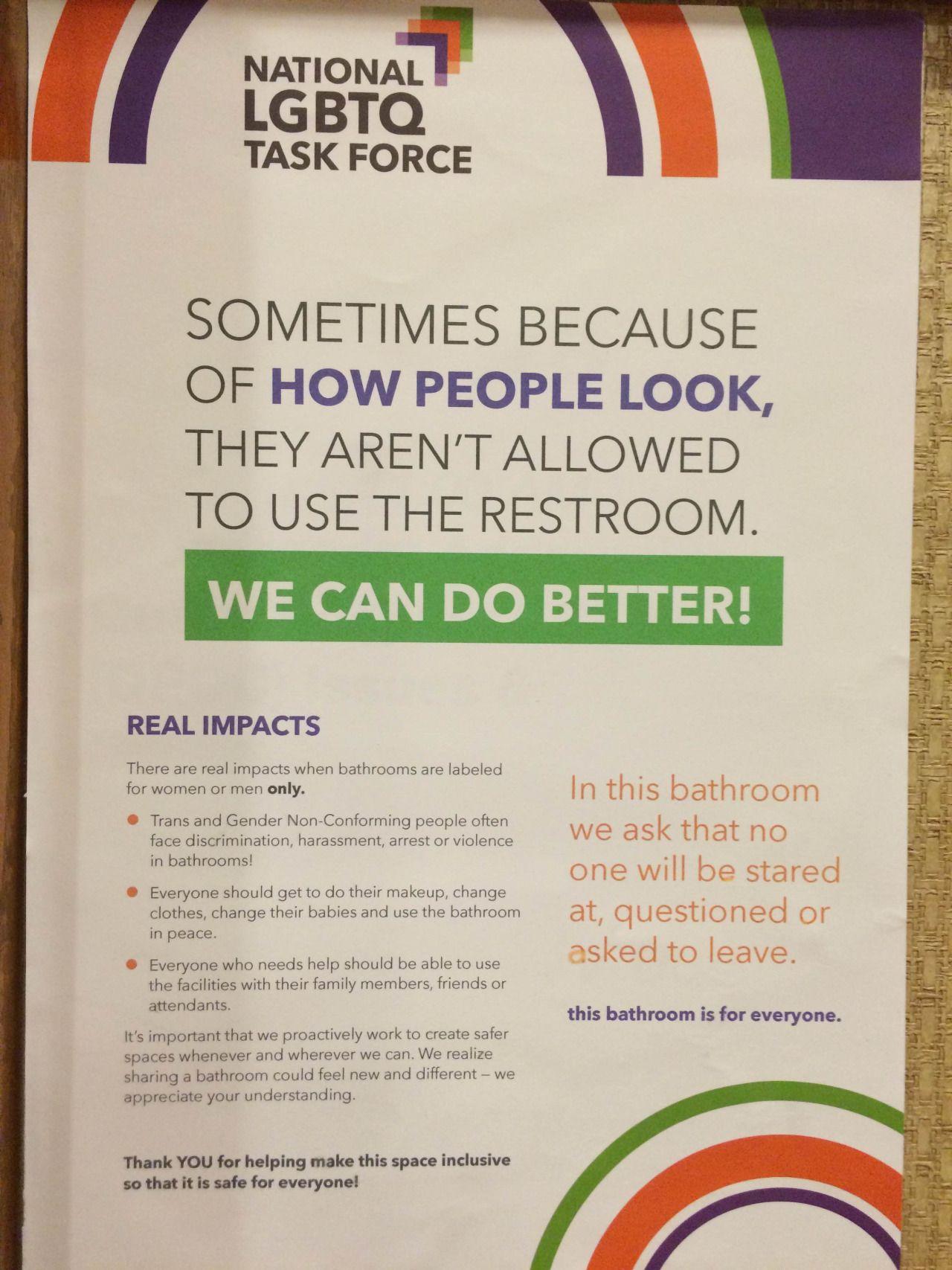 Gender Neutral Bathrooms Sex ED Pinterest Gender Neutral Bathrooms - Why gender neutral bathrooms are important