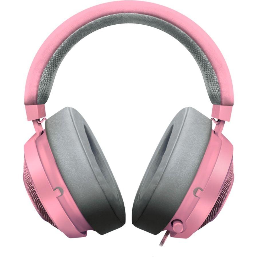 Kraken Pro V2 Quartz Headset Binaural Bandeau Gris Rose Casque