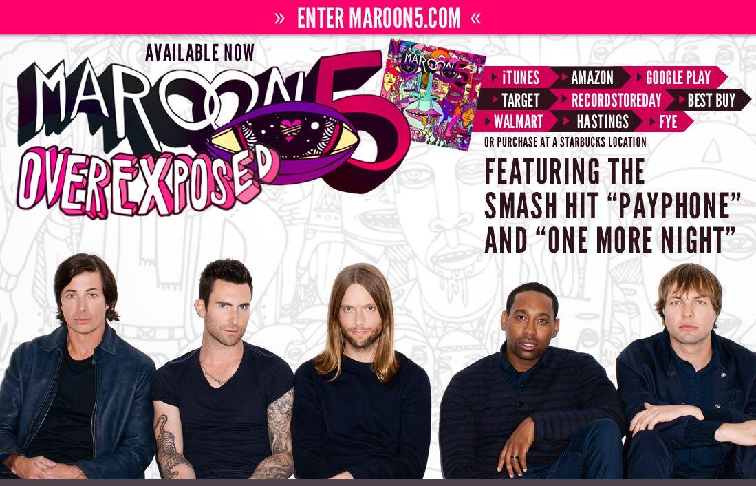 2020 Tour Maroon 5 Maroon 5 Lyrics Music Love