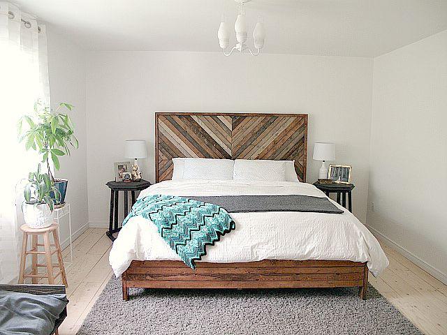 """West Elm """"Alexa"""" Inspired Bed DIY"""