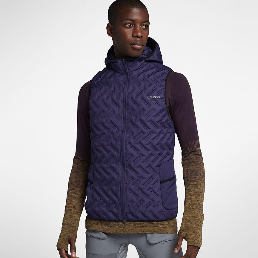 Väst NikeLab Gyakusou Aeroloft för män Air clothes, Mens