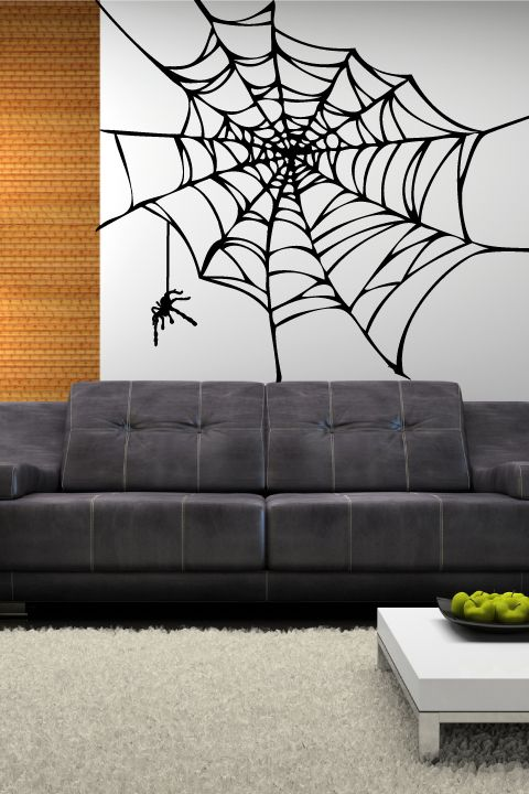 Spider Web Wall Decals In 2019 Walltat Animals Wall
