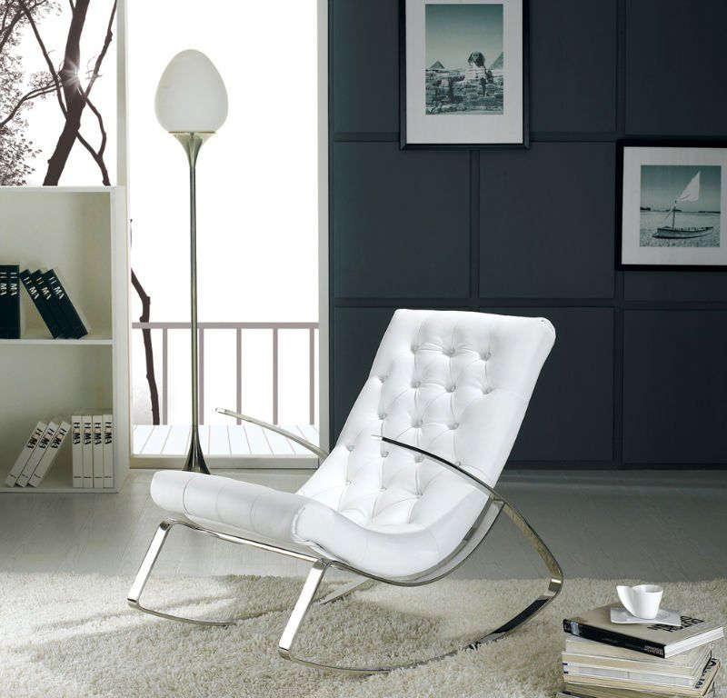 White Indoor Rocking Chair Double Lounge Outdoor Chairs Buying Select