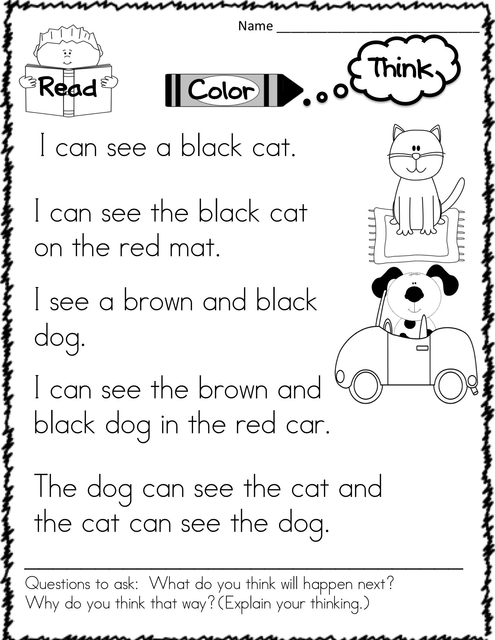 Easy Sight Word Stories To Use For Guided Reading Or Any
