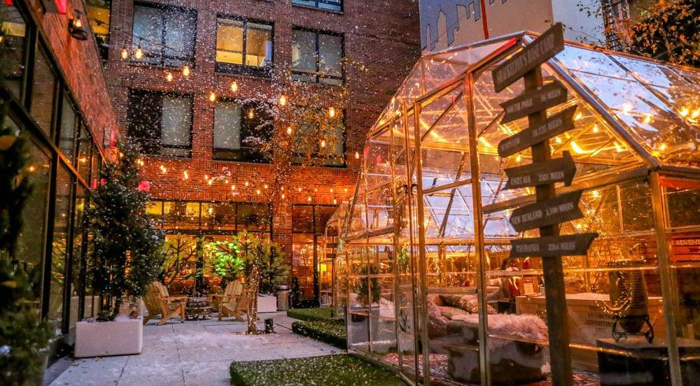 Fire Pits, Igloos And Blankets: The 9 Best Winter Rooftops ...