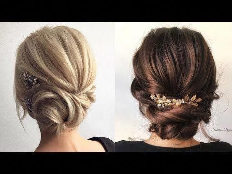 beautiful wedding hairstyle weddinghairstylesupdo  short