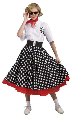 grand heritage womens polka dot 50s costume modest halloween costume - Modest Womens Halloween Costumes