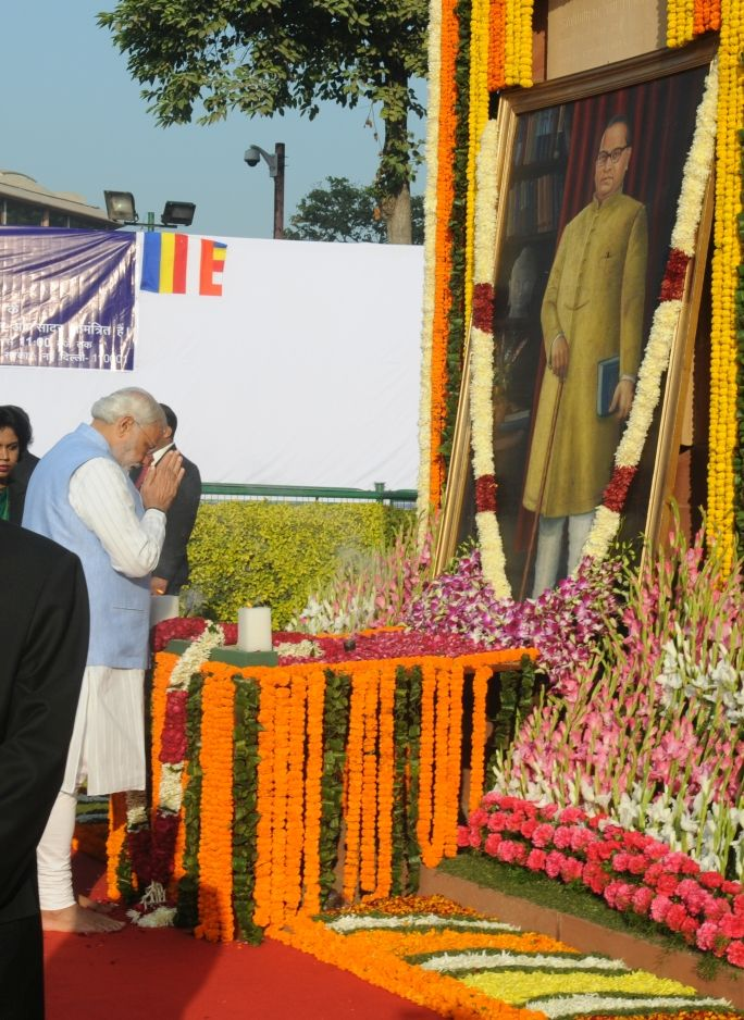 PM's tribute on Mahaparinirvana Diwas of Dr. Babasaheb
