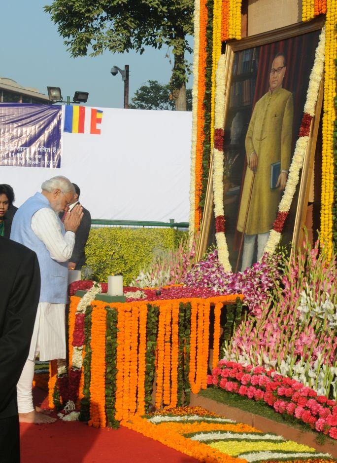 PM's tribute on Mahaparinirvana Diwas of Dr. Babasaheb