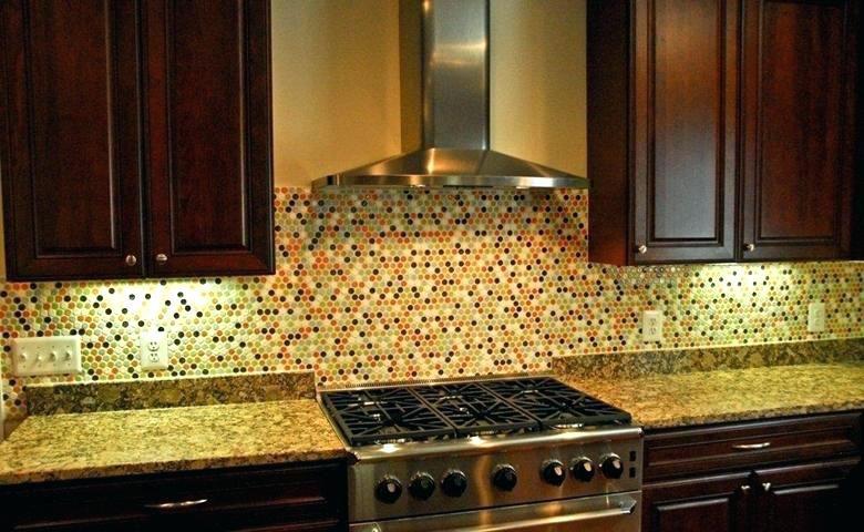 Multi Colored Tile Backsplash Multi Colored Tile Penny Kitchen Circles Multi Color Penny Es For C Mosaic Tile Backsplash Color Tile Backsplash Multi Color Tile