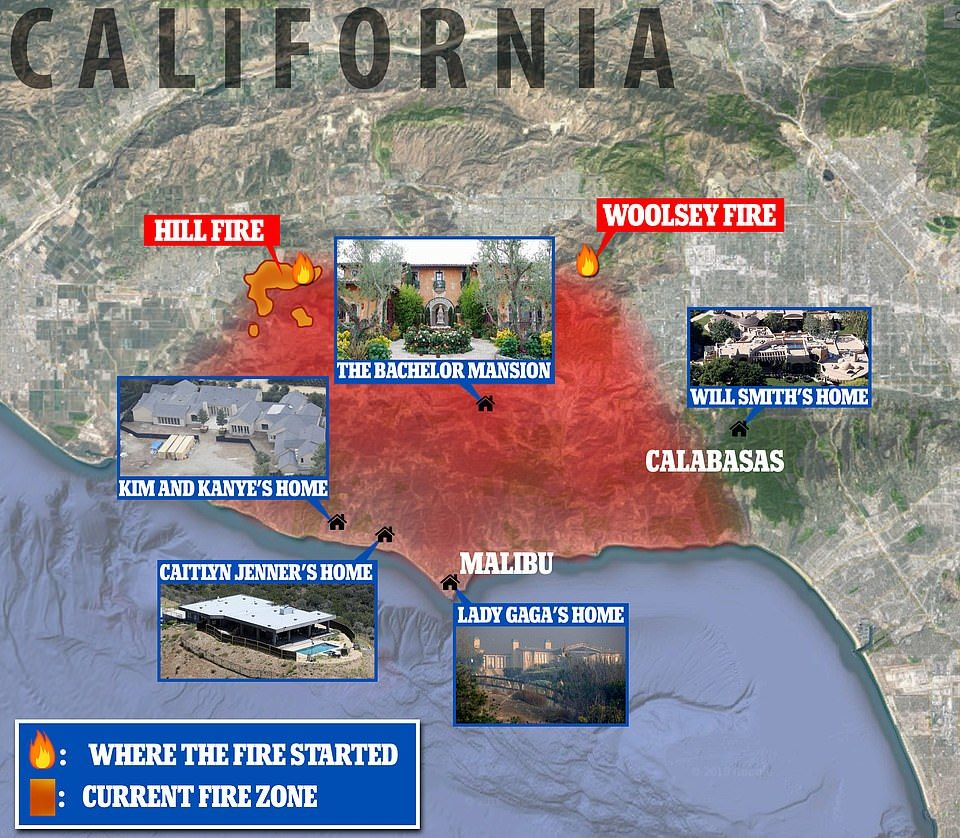 Shelters Are Overflowing As 300k Residents Flee California Fires Malibu Homes Malibu California Wildfires